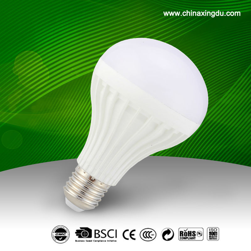 12W CE RoHS thermal conductive plastic cool/warm whit,2016 Cheap price led bulb