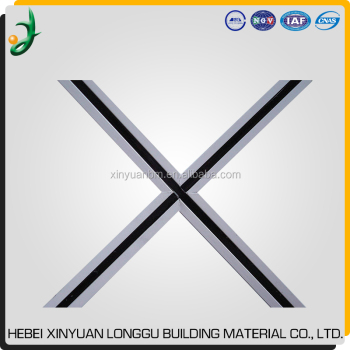 Galvanized Black Groove T Bar for Suspended Ceiling