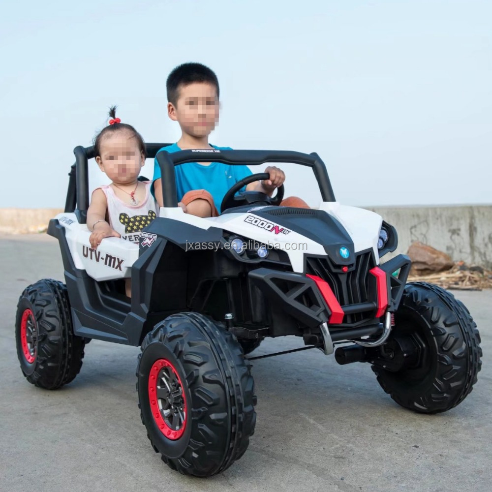 two seats ride on car jeep with optional four motors AS-J101