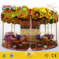 Indoor and outdoor swing horse amusement park rides (12 seats )