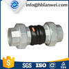 Sanitary Fittings EPDM Rubber Flexible Connector With Union Type