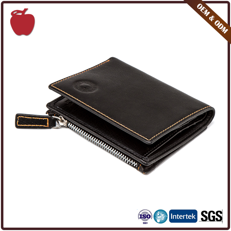 Factory Wholesale Hot Sell Tailored Casual Genuine Men'S Travel Leather Wallet/Purse