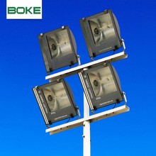 Manufacture outdoor lamp post advertising led garden pole light 6m street light pole