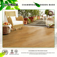 Indoor durable solid wood flooring 2450MM*145MM*18MM