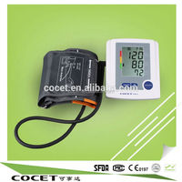 COCET wrist type & arm type blood pressure monitor