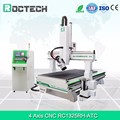 New wood 4 axis atc cnc routers for furniture with best cnc machine price