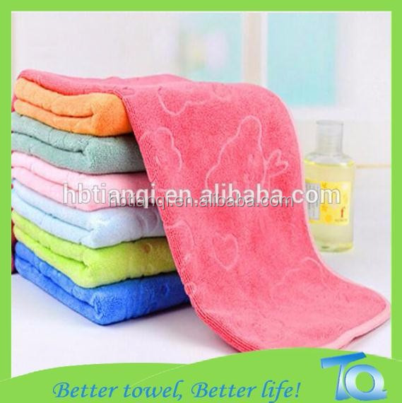 Direct Manufacturer south korea coral fleece fabric absorbent cloth microfiber cloth