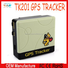 the Smallest Cute GPS Tracker TK201 For Pet/personer With Bear Pattern,Real Time Update Location