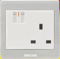 13A dual usb port BS three Pins socket