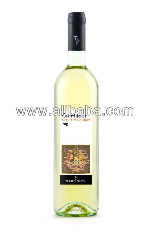 Chimirici White Moscato and Zibibbo - High Class Bottled Italian Wine