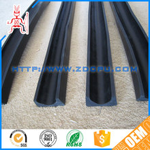 Small tolerance aging resistant hot pressing molding window rubber seal strips