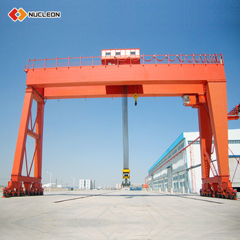 MG Railways Construction Used Mobile Gantry Crane China 10 Ton 20 Ton