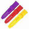 Hot sale high quality soft stretch silicone rubber band watchstrap