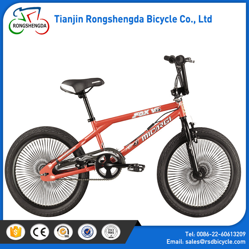 2017 latest youth freestyle bmx bicycle with good quality 20**24 tires/steel frame disc brake BMX bicycle for sale