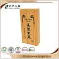 Factory Direct sale purywood wooden wine box with 2 or more bottles