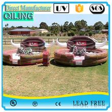 QL top grade Rotating funny inflatable bull ride on sale