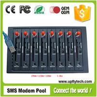 Low cost wavecom q2303 multi sim card gsm modem 8 ports sim card slots sms gsm modem
