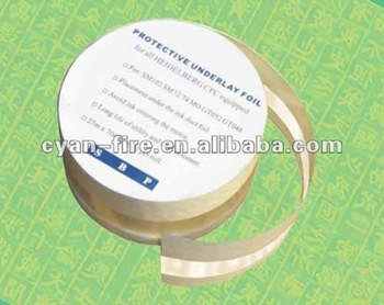 Heidelberg spare parts - Protective Foil HE14203 suitable for Heidelberg printing machine