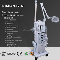 Multifunction facial machine beauty 17 in 1beauty skin instrument Ultrosonic skin lifting equipment mesotherapy for beauty salon