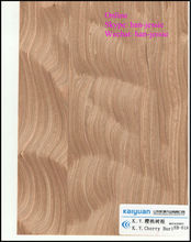 cherry burl engineered wood veneer