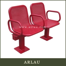 Arlau public seating,bench with umbrella,composite garden benches