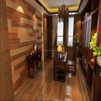 Buy Irregular Size Long Strip Uneven Surface Mosaic Wooden Wall ...