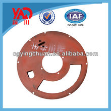 Construction Machinery Parts Upper Rubber Sealing Plate