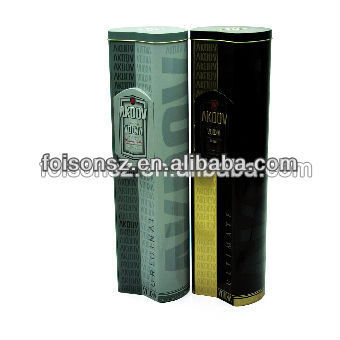 wholesale good quality tin tube for wine packaging
