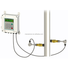 integrated ultrasonic flowmeter water flow sensor hydraulic flow meter remote liquid flow meter for liquid measurement