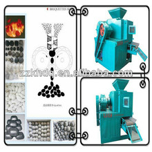 Solid coal powder ball briquette making machine/briquette coal dust press for hot sale