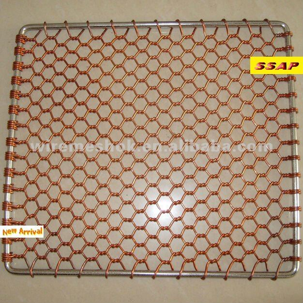 bbq barbecue metal flexible wire mesh
