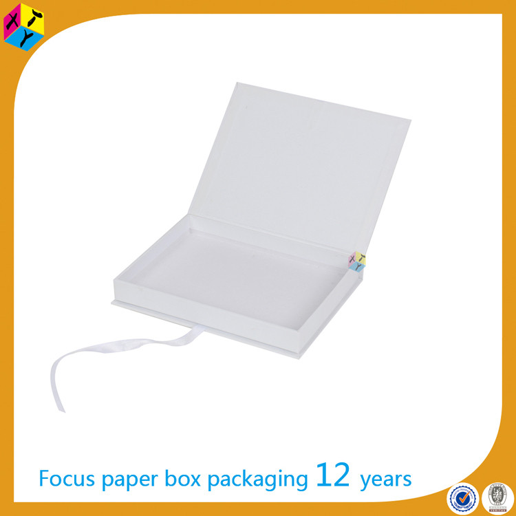 white gift packaging boxes for hair product