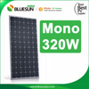 BLUESUN high effficiency max power monocrystalline 320w high watts solar panels