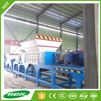 Whole used tyre shredder machine for Car tire/Truck tire/OTR Tire