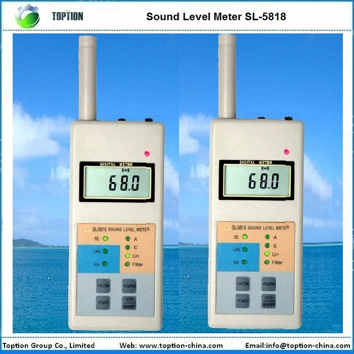 SL-5818 noise db meter / sound level meter price TOPTION