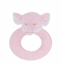 OEM and ODM new design Promotional soft infant baby toy rattle