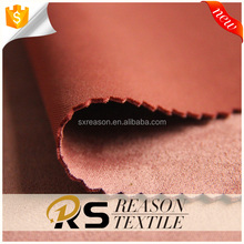 High quality wholsale polyester suede scuba knit fabric in good elasticity
