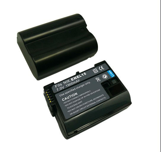 cheap price camera accessories EN EL15 battery pack for Nikon