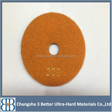 Colorful 4 Inch Angle Grinder Polishing Pads For Marble