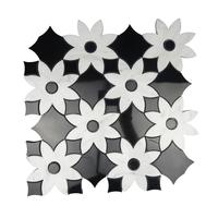 Marble Mosaic Picture Tiles And Waterjet