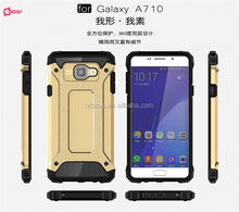 New Slim Armor Combo Case PC TPU Phone Case For sumsang galaxy A710 Shock proof case