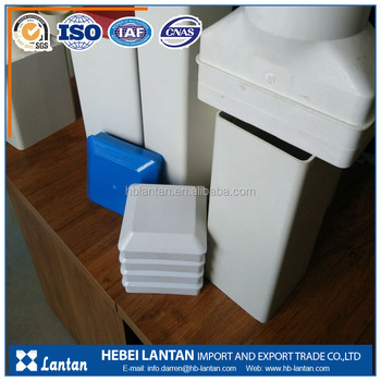 Extrusion series pvc plastic square rectangular pipe with fittings