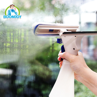 Magic High density TPR rubber microfiber window cleaner/instant misting window squeegee