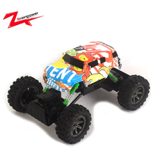 4WD graffiti climbing rc electric monster truck
