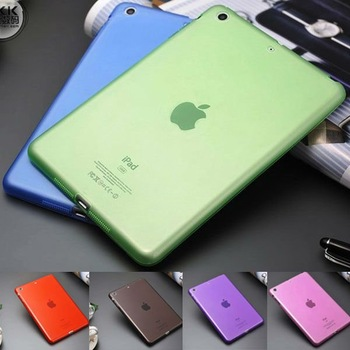 new design soft TPU back cover for ipad mini
