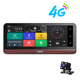 7.84 inch 4g android 5.1 system rearview mirror car dvr gps navigation wifi dash camera