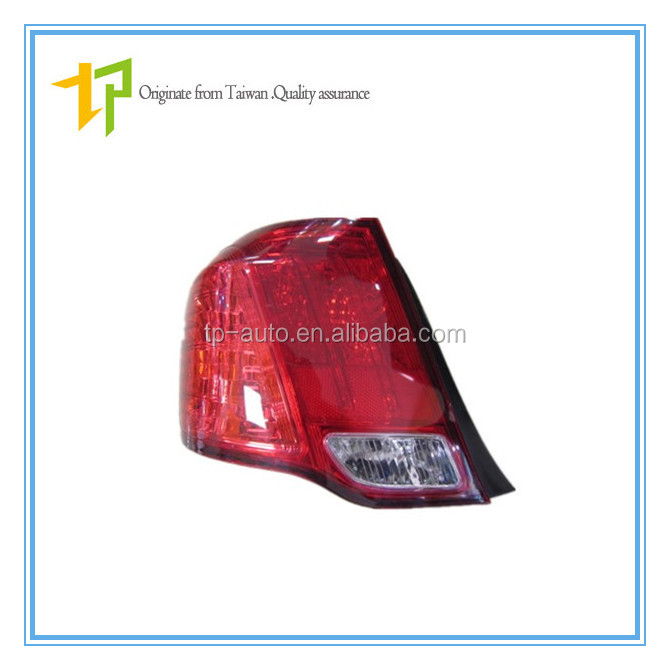 Taiwan standard production tail lamp / light oem 81560-12A20 for Toyota Axio 2006