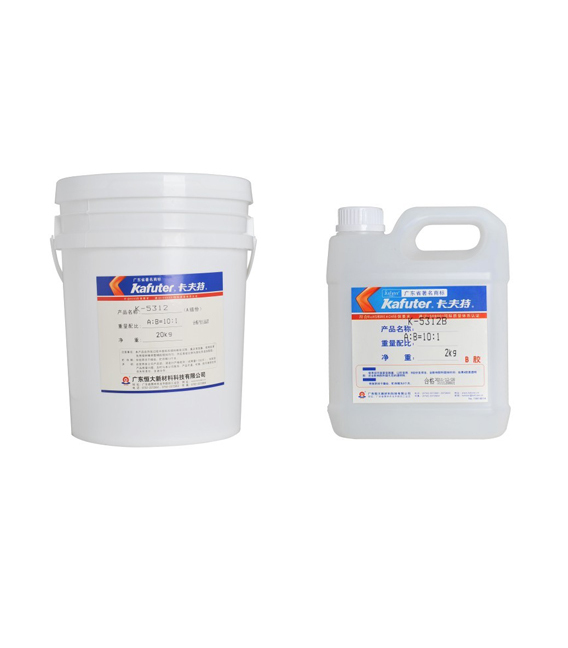 Kafuter LED K-5312T Transparent Silicone Rubber Based Adhesives