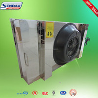 AHU System Ceiling Outlet Stainless Steel Frame Hepa Filter FFU