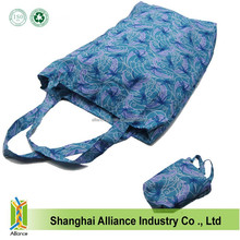 Large Capacity Foldable Shopping Bag,Promotional Folding Shopping Bag With Small Pouch